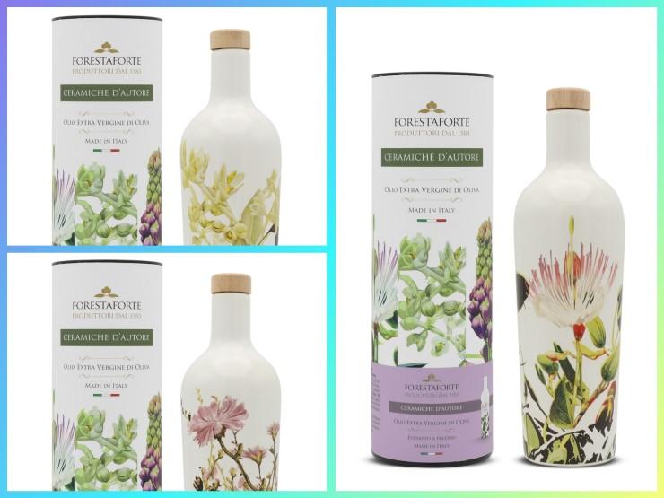 Bottiglie in ceramica per olio belle e perfette per la conservazione