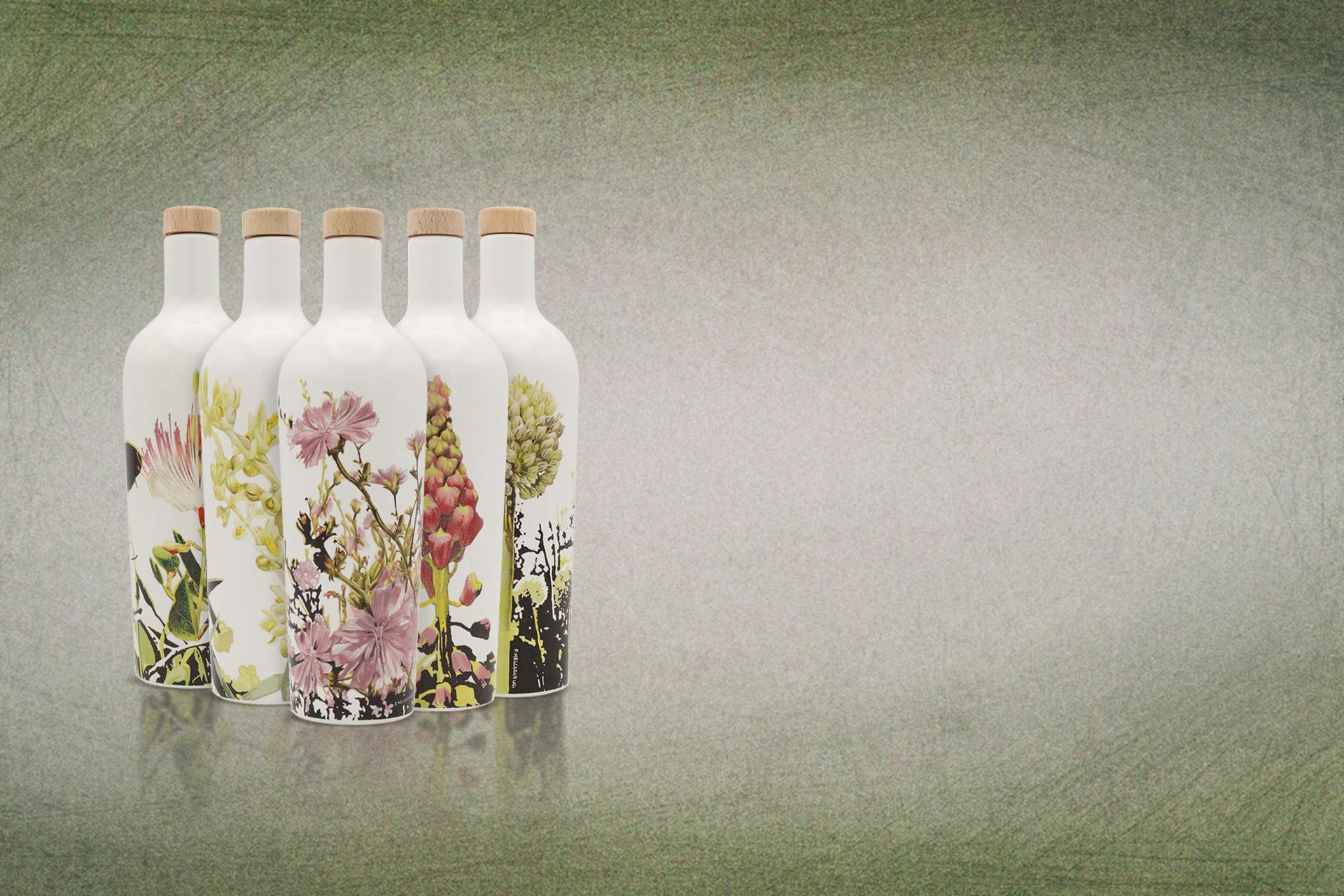Olio bottiglie ceramica